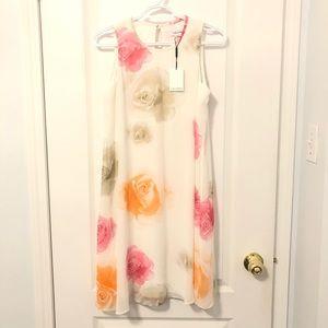New Calvin Klein Floral Dress